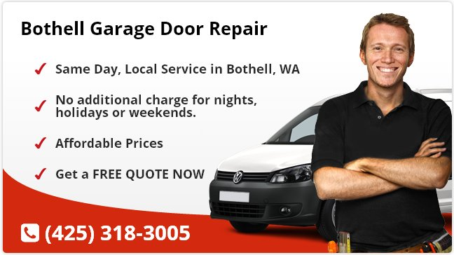 Bothell Garage Door Repair